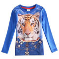 one piece baby boy t shirt boy clothes kids printed tigor nova children clothing boys long sleeve t shirt vetement enfant A5788