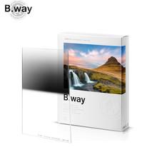 B.way Square R-GND 0.9/1.2 Reverse Gradient Neutral Density Photographic Camera Filter 100x150mm 150x170mm nisi 150 170mm square soft gradial gradient graduated gray neutral density filter gnd8 0 9 optical glass reduce light 3 stop