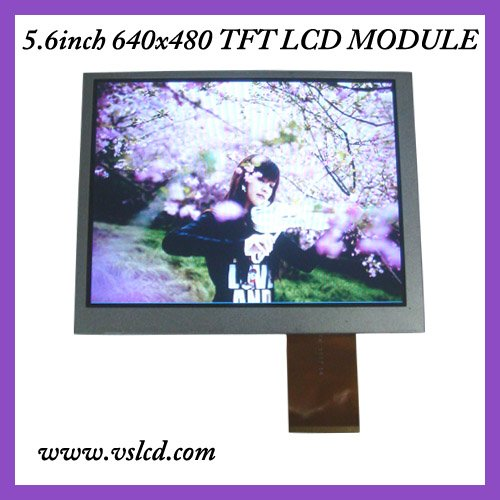 5.6inch tft lcd display LCM AT056TN52  640x480 resolution  led backlight color tft
