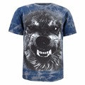 Men Animal Face T Shirt Wolf Bear Shark Tiger Eagle Funny Cotton Tee