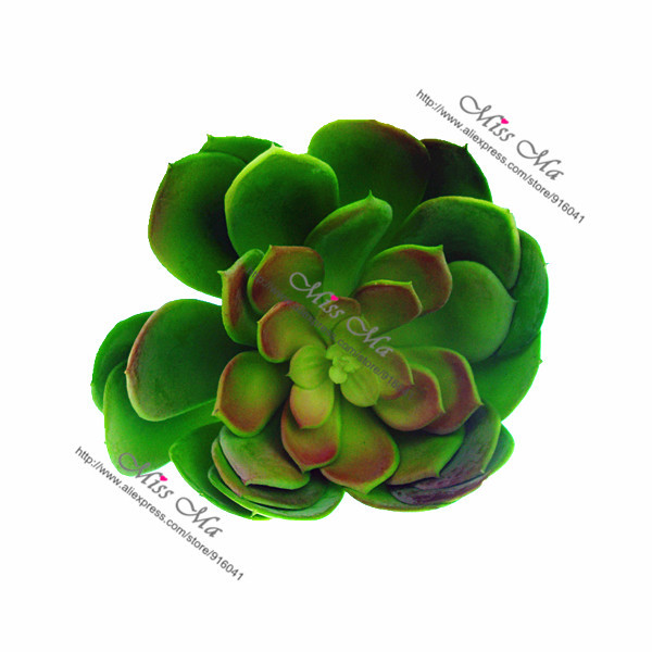 Aliexpress Com Buy Big Size Desert Lotus Artificial Succulent Plant Plastic Flower Green Plant