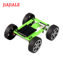 DIY small toy car DIY solar toy electric car exercise brainpower to help children grow quickly