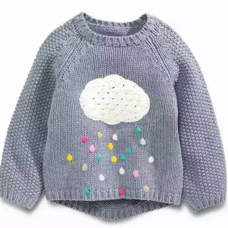 Dziecko Children Sweater Baby Boys Girls Knitted Sweaters