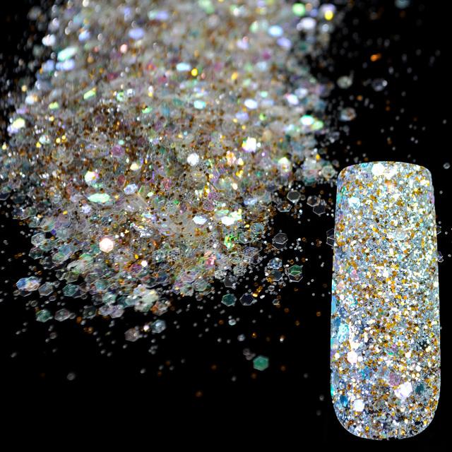 Dazzling Transparent Sequins Dust Nail Glitter Decorations
