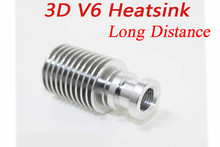 Newest Improved Heatsink Direct Filament for 1.75mm and 3.0mm 3D V6 J-head Wade Extruder 3D Printer Accessories
