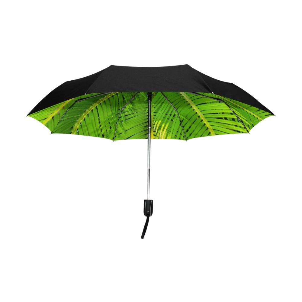 Custom Christmas Tree Compact Travel Windproof Rainproof Foldable Umbrella