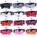 Free Shipping Commercial Solid wedding Party Necktie for Children Candy Boys Girls Bow Tie Butterflies Clothing Accessories