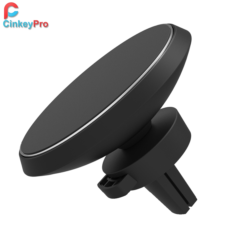 CinkeyPro Wireless Car Charger W3 Supporto Magnetico per iPhone 8 X Samsung Galaxy S6 S7 S8 Più QI Air Vent Basamento 5 V/1A ricarica