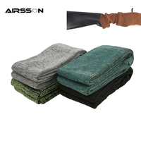 54 Gun Sock Rifle Shotgun Polyester Silicone Treated Moistureproof Sleeve Hunting Accessory Pistol Airsoft Storage Sleeve