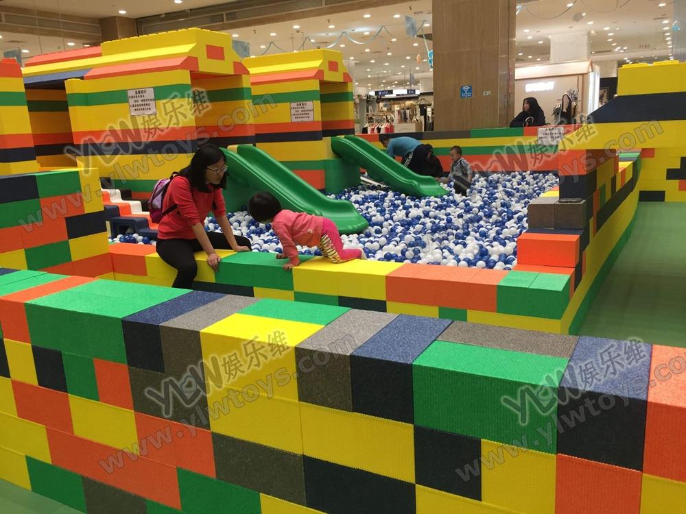 Customize Big Kids DIY EPP Soft Bricks Building Playground Environmentally Baby/toddler EPP Blocks YLW-EPP0335