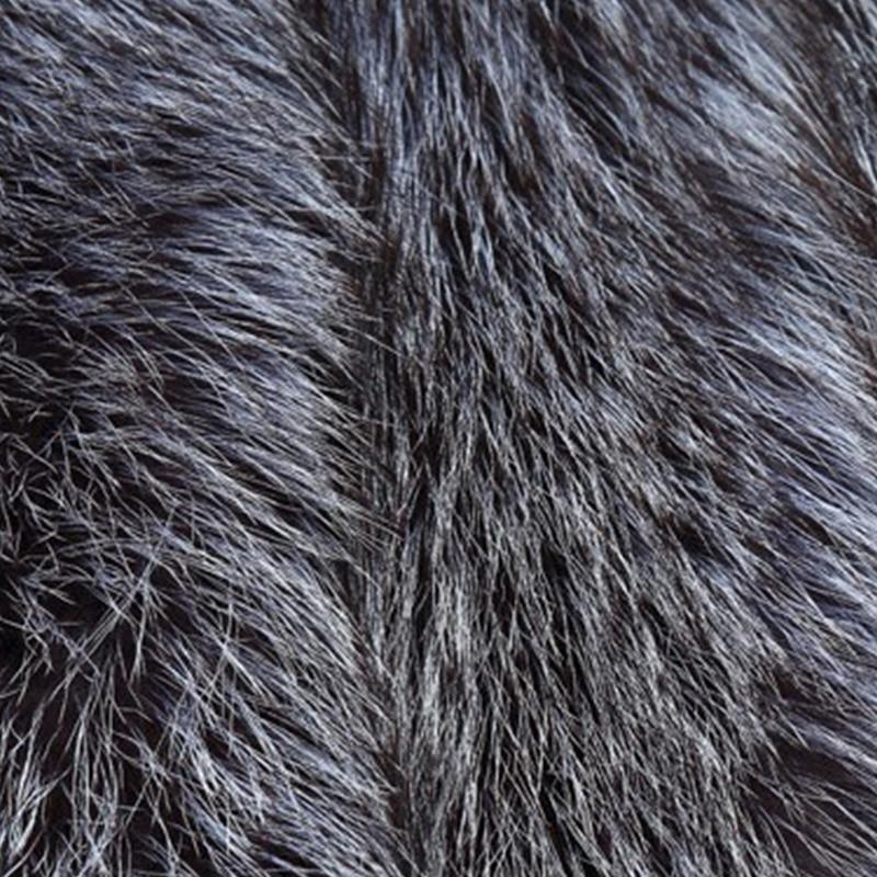 b2bdbcd3a9c3f2 Faux Silber Fuchs Pelz Weste mantel Frauen Dicke Warme Mode Winter Kleidung Faux  Pelz Weste Lange Mantel Imitation pelz mantel weste plus größe in Faux ...