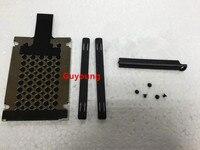 Novo para lenovo thinkpad para ibm x220 x230 x220t x230t disco rígido hdd caddy capa de borracha trilhos parafuso 7mm|null| |  -
