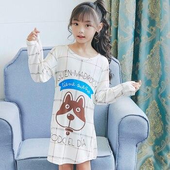 Nieuwe Kinderkleding.Nieuwe Kinderkleding Herfst Nachthemd Meisjes Baby Pyjama Katoen