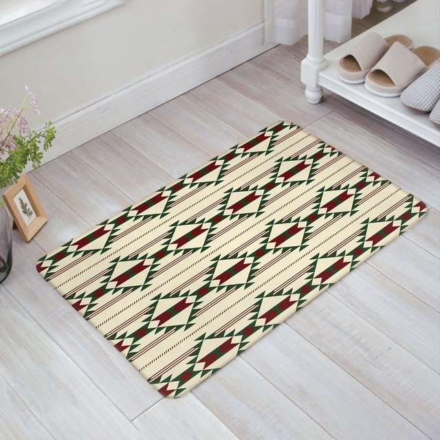 christmas theme geometric pattern doormat entrance mat indooroutdoor door mats floor mat rug mat