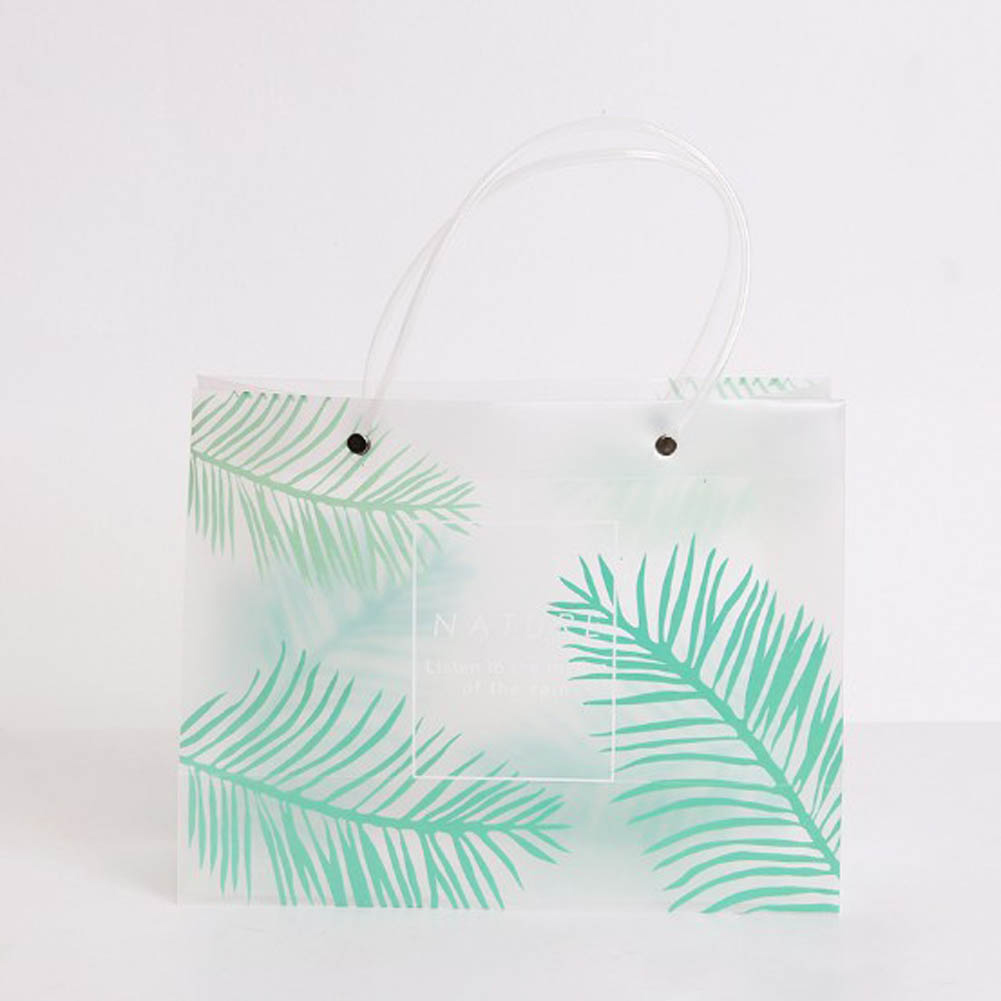 6951a5649bd8 2018 Summer Girls Beach Bags Women Transparent Waterproof Stitching Fruit  Print Leaf Shopping Shoulder Bag For