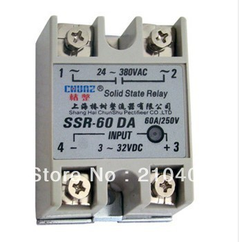 SSR 80DA 80A single phase Solid State Relay