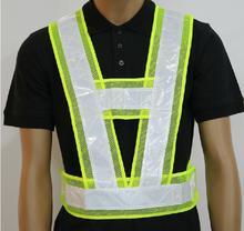 """Reflective vest """"V"""" reflective security vest reflective overalls biking clothes working vest"""