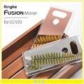 100% original ringke fusión espejo case para lg v20 v20 brillante espejo de lujo delgado elegante de la cubierta para lg teléfono bolsa