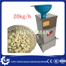 stainless steel dry garlic peeling machine peel garlic