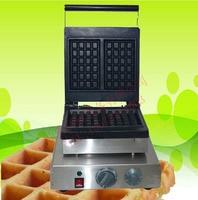 Free shipping 110v 220v 2 Pcs Waffle Maker Commercial Waffle Machine
