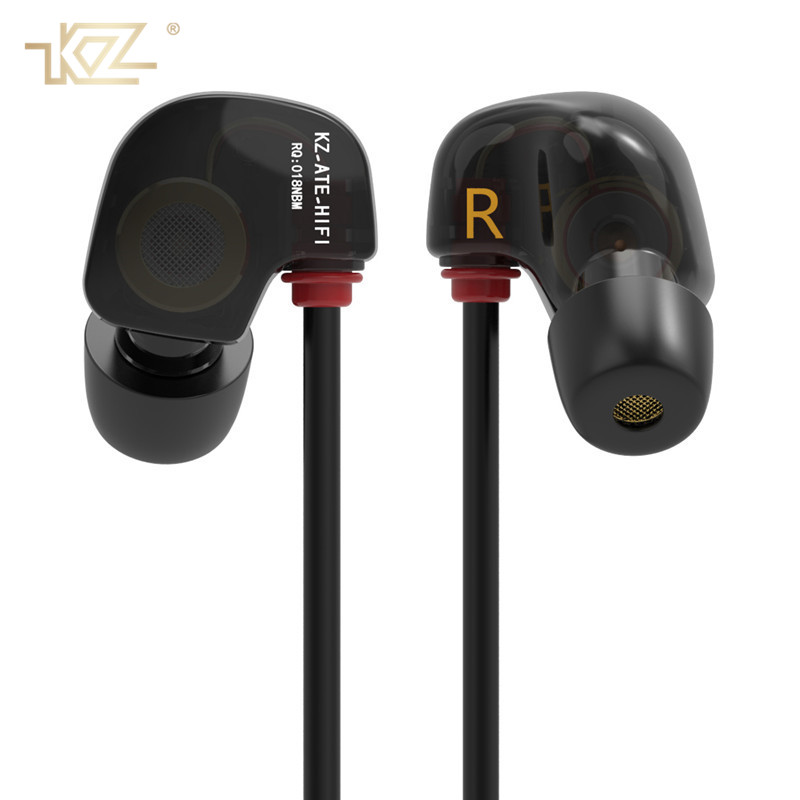 KZ HiFi Sport Running Earphones Professional Dynamic In Ear Earphone With Microphone Stereo Bass for Phones Xiaomi Kulaklik qkz c6 sport earphone running earphones waterproof mobile headset with microphone stereo mp3 earhook w1 for mp3 smart phones