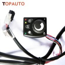 Interruptor de Control del Calefactor de Estacionamiento Aire Diesel TopAuto Similar a Webasto Calentador para Automóviles Coches Camión Caravana
