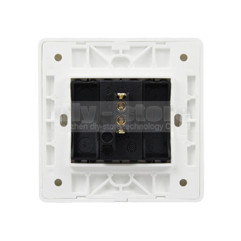 DIYSECUR Exit Button Switch / Access Switch / Exit Switch For Door Access Control System Kit White