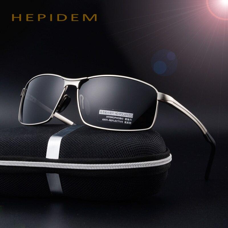 b0dbcf9c741f 2017 Cool Men Brand Designer HD EMI Polarized Sunglasses Male Driving Fishing  Sports Squared Sun Glasses Decorative with box rey-in Sunglasses from Men s  ...