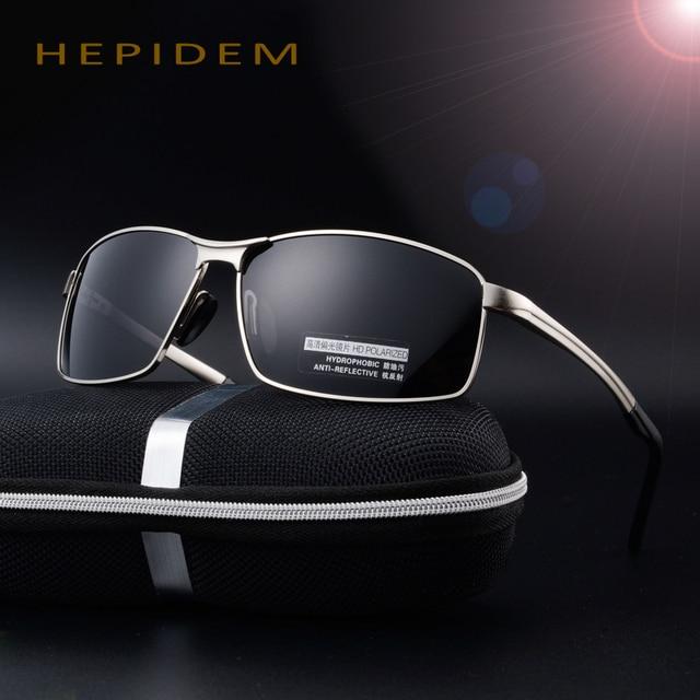 2017 Cool Men Brand Designer HD EMI Polarized Sunglasses Male Driving Fishing Sports Squared Sun Glasses Decorative with box rey
