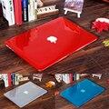 НОВЫЙ Кристалл Прозрачный чехол Для Apple mac book Air Pro Retina 11 12 13 15 сумка для ноутбука для macbook Air 13 чехол Вырез логотип