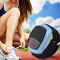 B90 esportes bluetooth 3.0 speaker hands-free chamada tf cartão de reprodução de rádio fm auto-temporizador falantes sem fio smart watch exibição de tempo