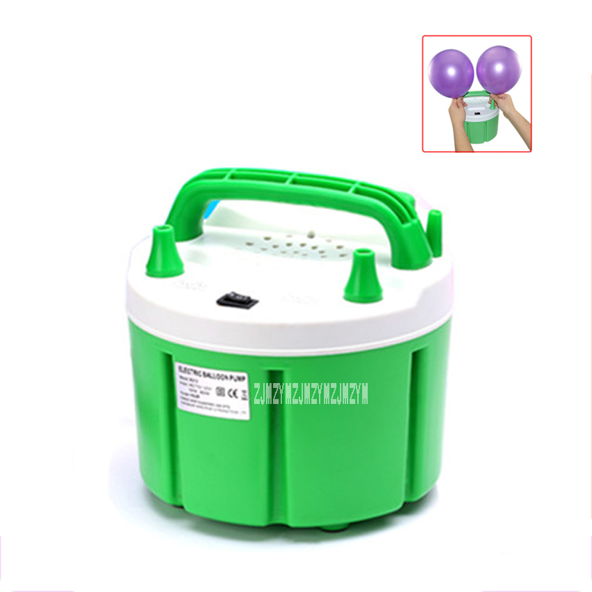 220v/110v 900W Fresh Air Electric Balloon Pump B312+ Air Inflator Blower For Balloon With Timing Control Function With 2 Nozzel intelligent timing counting balloon pump electric air pump steam ball inflating machine double blowing device