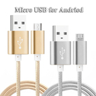 3FT Aluminum Nylon Micro USB Cable for Huawei Mate 8/7 Mate S P8 Lite P7 Honor 4C G Play Mini 4X 5A 5C 5X 6 Plus 7 7i ShotX G8