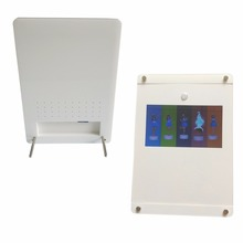 custom 7inch IPS screen acrylic video player support sd card With stand video booklet with DC plug video advertising machine