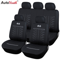 AUTOYOUTH Car Seat Covers Sports Styling Universal Fit Most Automotive Seats Car Seat Protector Covers Auto