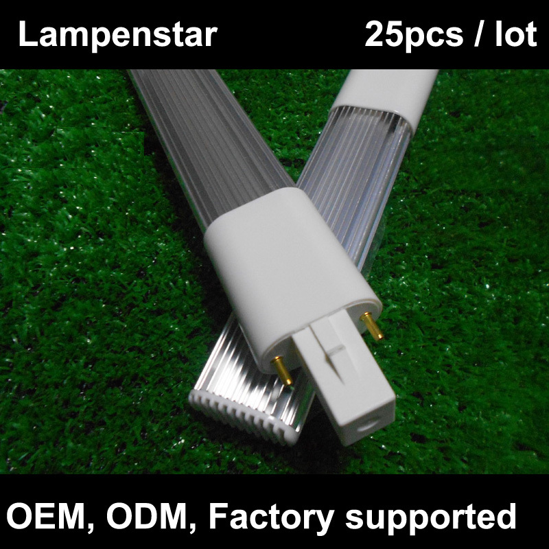 g23 led light bulb tube 2-pin led PL lamp 8W 6W 4W 220V 12W 18SMD 2835 pl-s 9w warm whit ...