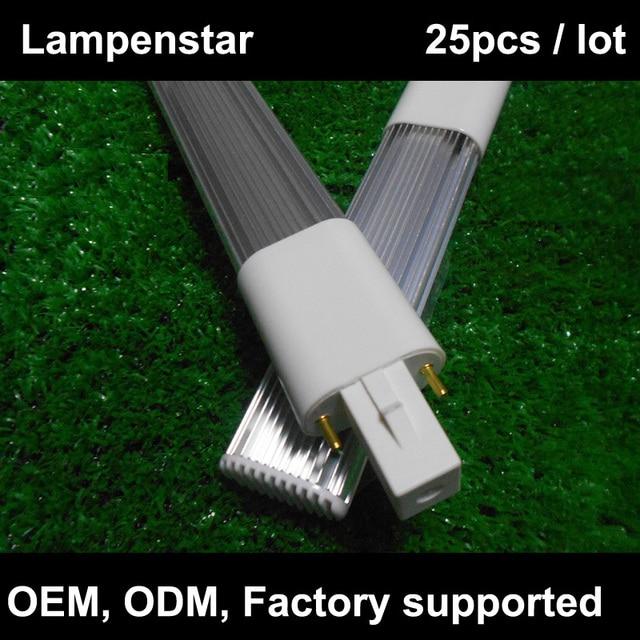g23 led light bulb tube 2-pin led PL lamp 8W 6W 4W  220V 12W 18SMD 2835 pl-s 9w warm white/Natural white/Cool white 25pcs/lot