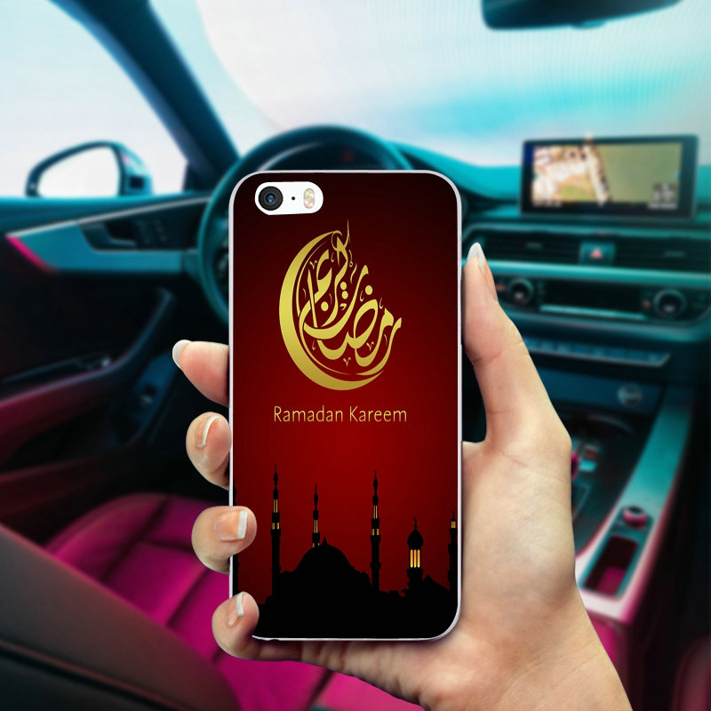 Half-wrapped Case Cooperative Arabic Quran Islamic Soft Tpu Silicone Phone Case For Iphone 5 5s 6 6s 7 8 Plus X Xr Xs Max