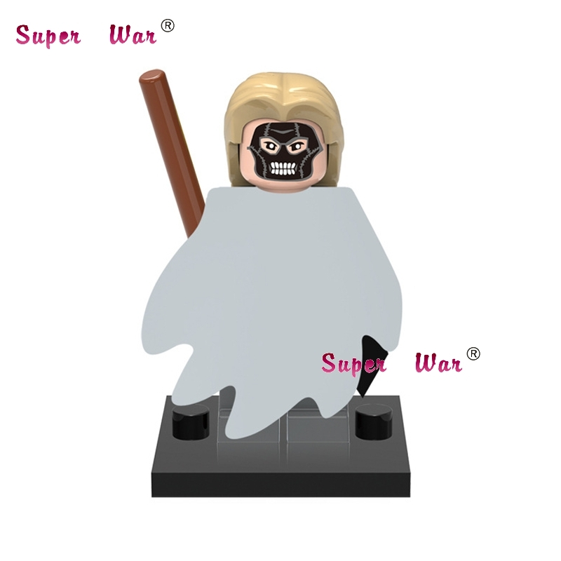 1PCS star wars superhero Harry Potter Death Eater building blocks action sets model bricks toys for children