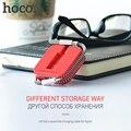 Original hoco u4 de sílice montar para rayo cable de carga para apple iphone 0.4 m de punto 42 cm usb cable de carga rápida
