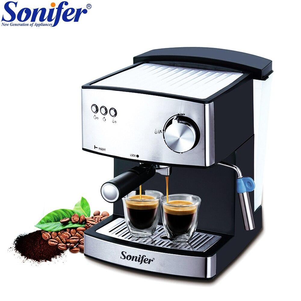 1.6L Espresso Elettrica Schiuma Macchina Per il Caffè macchina per il Caffè Elettrica Latte Ugello Elettrodomestici Da Cucina Sonifer