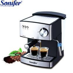 1.6L Espresso cafetera eléctrica máquina de espuma cafetera eléctrica vaporizador de leche electrodomésticos de cocina Sonifer