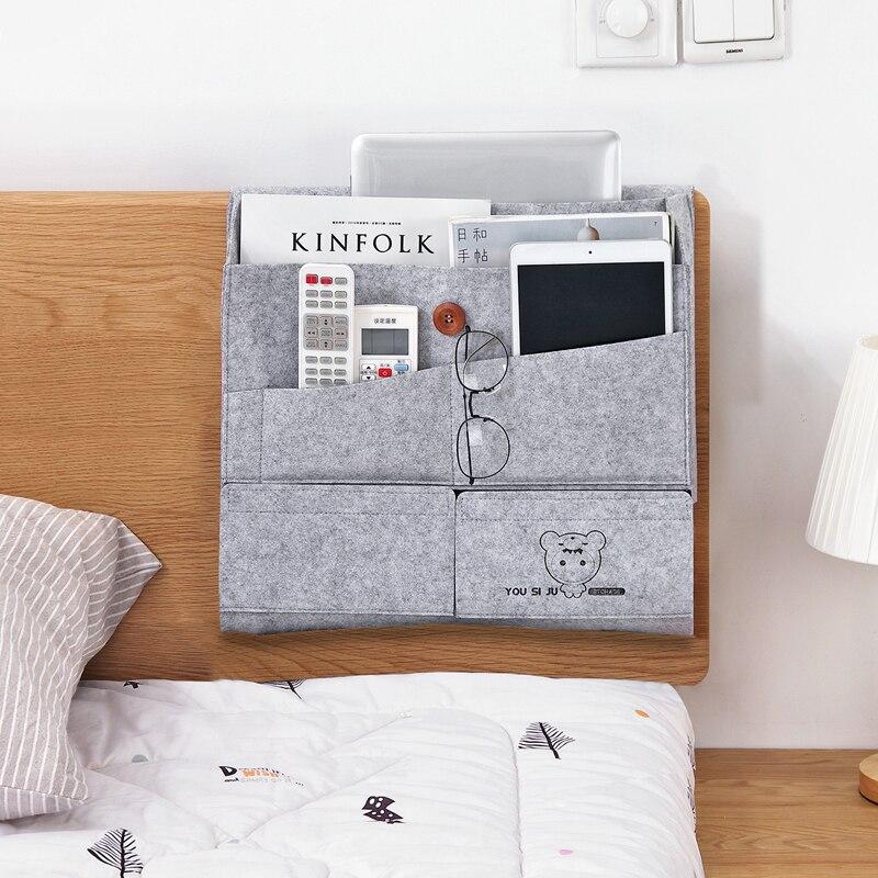 Feltro creativo stoccaggio Comodino camera da letto bag Dell ...
