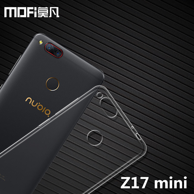 Nubia Z17 mini case original 5.2 inch MOFi ZTE Nubia Z17 mini case cover TPU soft back protection capas Z17mini silicon case