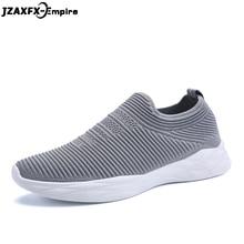 купить 2018 Summer New Breathable Mesh Shoes Slip-on Men Casual Solid Shoes Weaving design Fashion Walking Sneakers For men по цене 1269.41 рублей