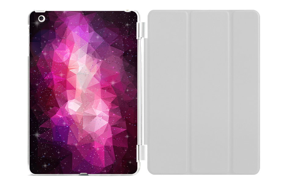 2017 For New Ipad 9.7 Inch Case PU Leather Smart Stand Tablet Cover For Apple Ipad5 Case For Ipad 6 9.7'' Cosmic Space Cover