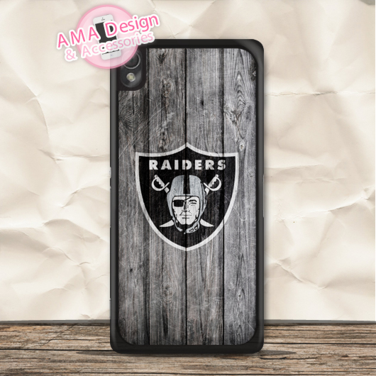Oakland Raiders Football Case For Sony Xperia Z5 Z4 Z3 compact Z2 Z1 Z E4 T3 T2 SP M4 M2 C3 C