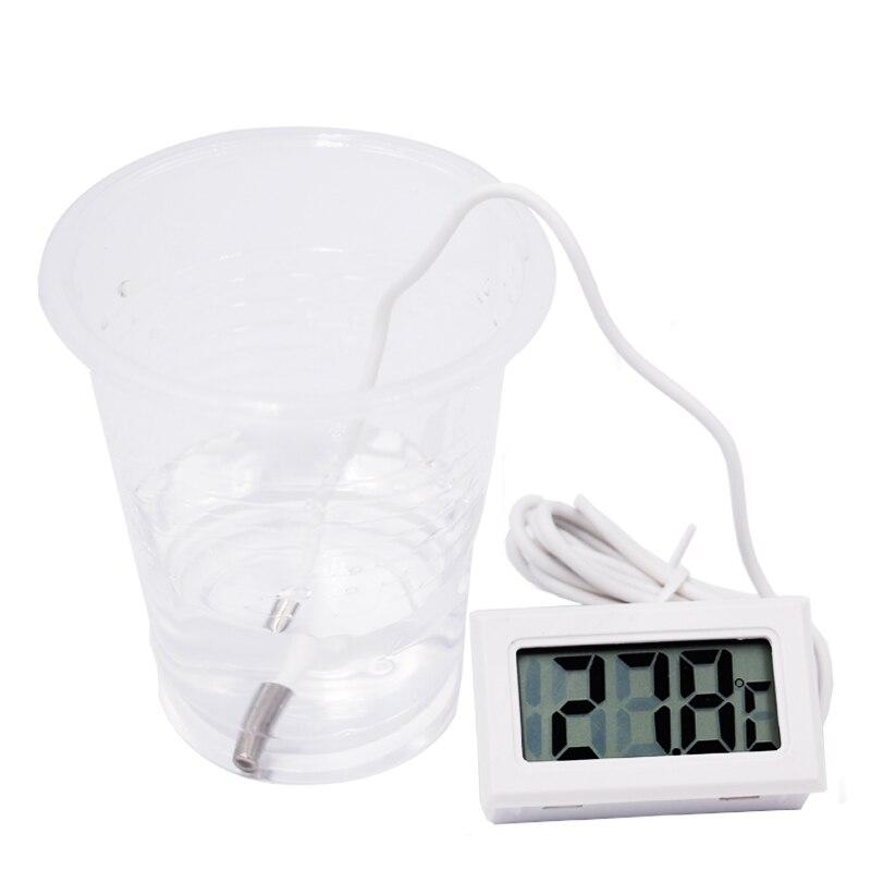 3db / tétel Új mini digitális LCD hőmérő - Mérőműszerek - Fénykép 6