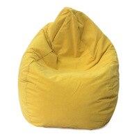 Bean Bag Sofa Cover Chairs Pouf for Kids Adults Living Room Lazy Bean Bag Living Room Lazy Bean Bag Sofa Relax Furniture