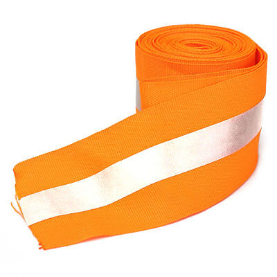 3M Silver Reflective Tape Safty Strip Sew On Lime Orange Fabric Vest Width 2